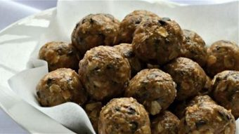 No Bake Energy Balls – a quick and easy recipe for new parents